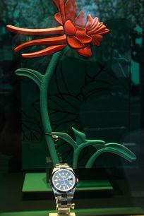 腕表与艺术花