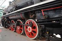 准轨蒸汽机车车轮