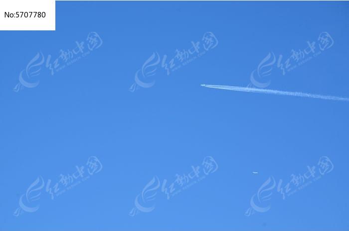 喷气飞机图片,高清大图_天空云彩素材