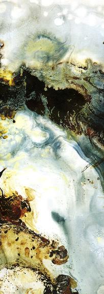 抽象油画玄关装饰画壁画背景墙