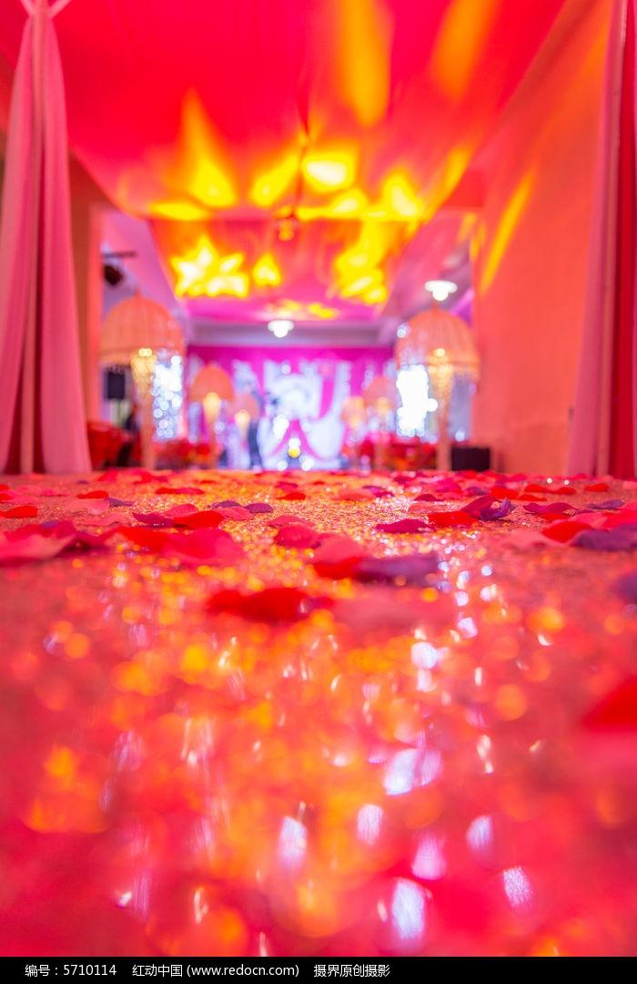 婚礼舞台图片