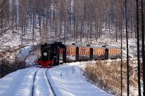 林海雪原小火车