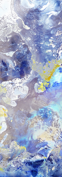 油画抽象画仿真画喷绘画素材