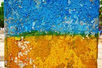 旧墙油漆背景