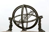 清代乾隆时期制作的天象仪