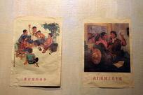 五六十年代董存瑞的故事墙画