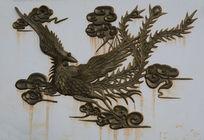 中国传统凤凰铜雕