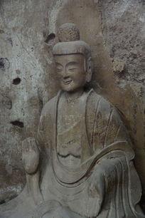 甘肃麦积山石窟造像