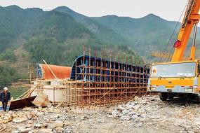 高铁桥梁的建设