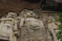 麦积山石窟佛像
