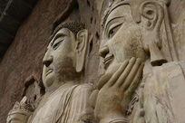 麦积山石窟释迦牟尼塑像