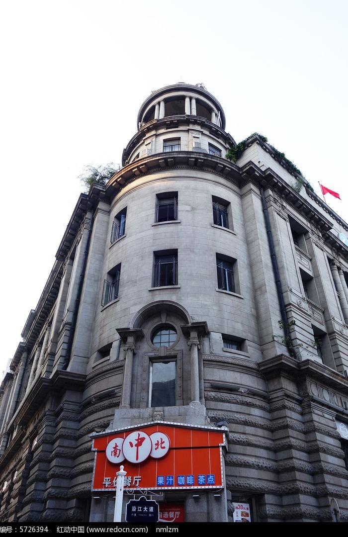 武汉市江汉路欧式建筑图片