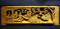 湘南木雕《明代书院内景》