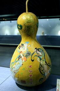 彩雕葫芦七仙女祝寿
