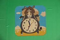 可爱牛挂表