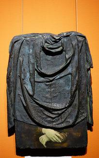青铜雕塑与绘画《丽莎·乔宫多》