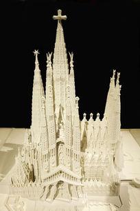 《圣家族大教堂》的完整模型