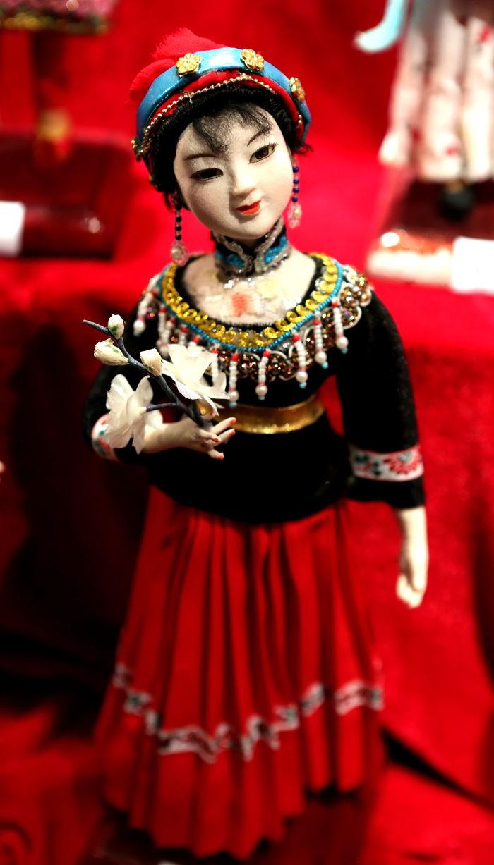 中华五十六个民族 服饰傈傈族 图片,高清大图 传