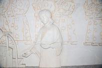 古代妇人浮雕