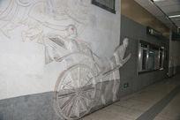 古代黄包车