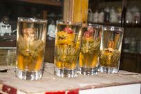 四杯菊花茶