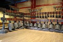 大钟寺内战国编钟铜乐器