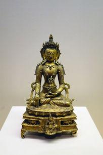鎏金铜阿閦佛像
