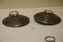 银饰耳饰-苗族旋纹银耳环