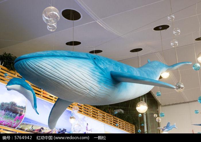 鲨鱼模型装饰物品图片