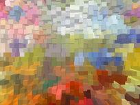 3D立体壁纸软包油画背景墙