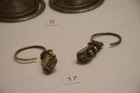 银饰耳饰-苗族宫灯坠银银耳环