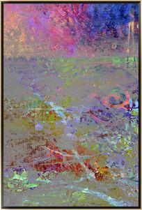 抽象装饰无框画