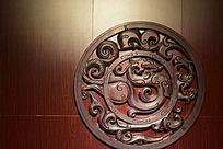 南越王博物馆标志浮雕