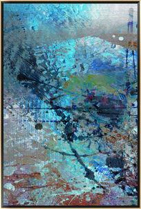 涂鸦抽象油画