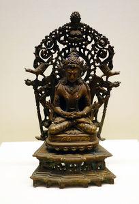 15世纪铜阿弥陀佛像