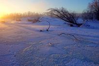 林海雪原朝阳