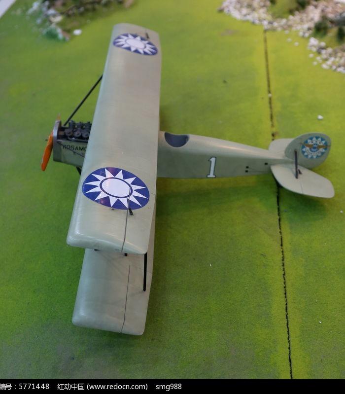 民国时期的乐士文飞机模型