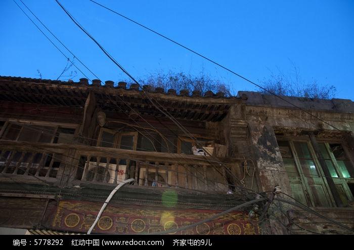 老式的房子图片