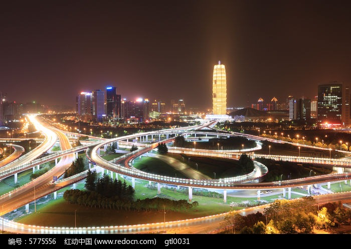 郑州东区夜景