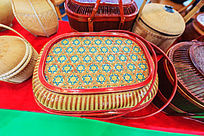 传统工艺竹编展品