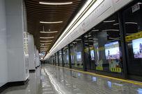 地铁汉中路站台