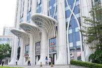 广州达标国际酒店正门