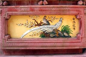 花鸟立体装饰画