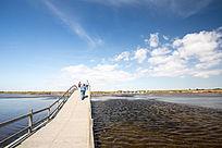 湿地栈道拱桥