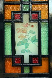 玻璃窗花装饰画