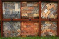 多样砌墙背景