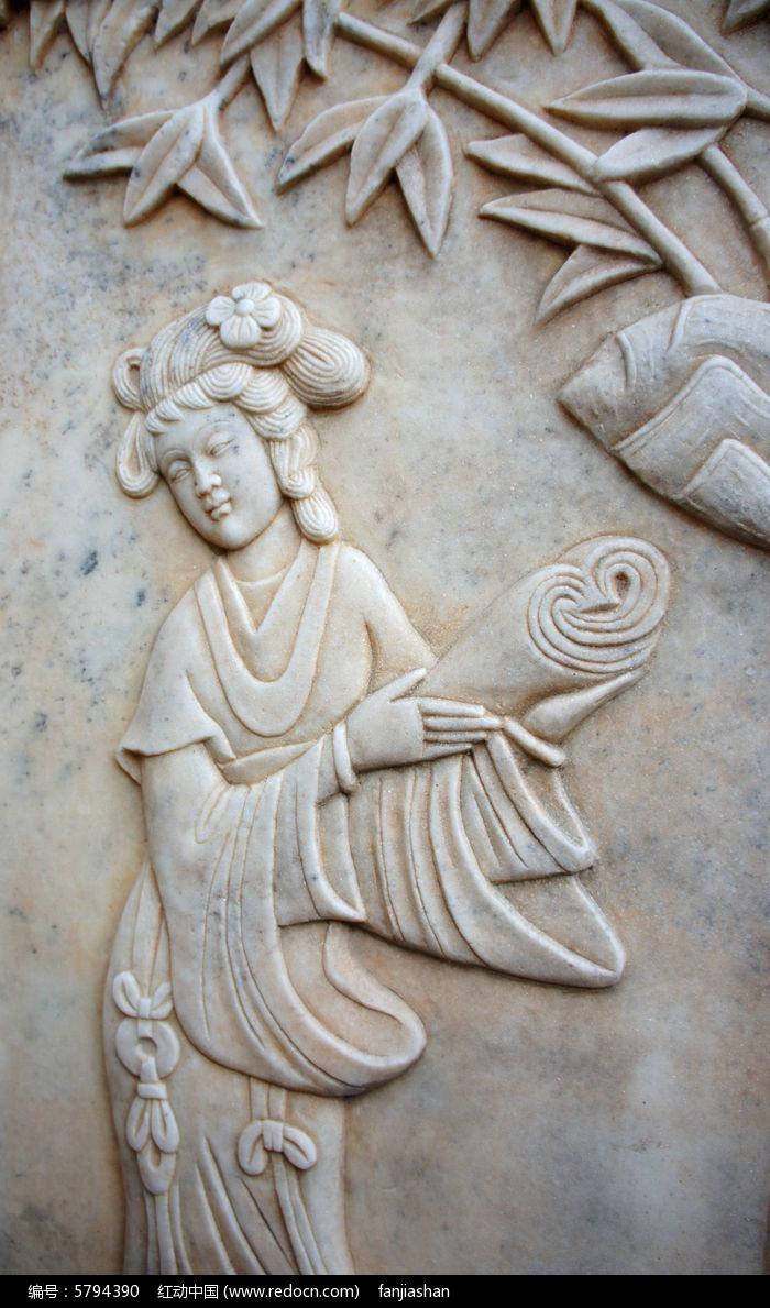 读书的古代女子