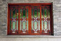 木框玻璃窗户
