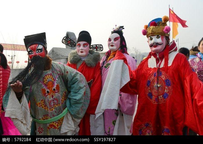 戏曲人物古装长袍图片