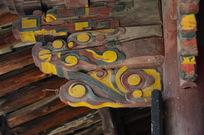 古建筑上的雕花横栱